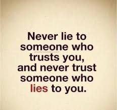 And cheaters status about liars Signs of
